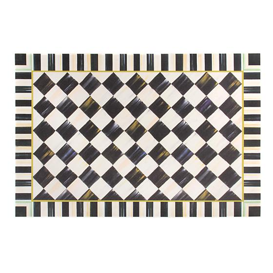 MacKenzie-Childs Courtly Check Floor Mat - 2' x 3'