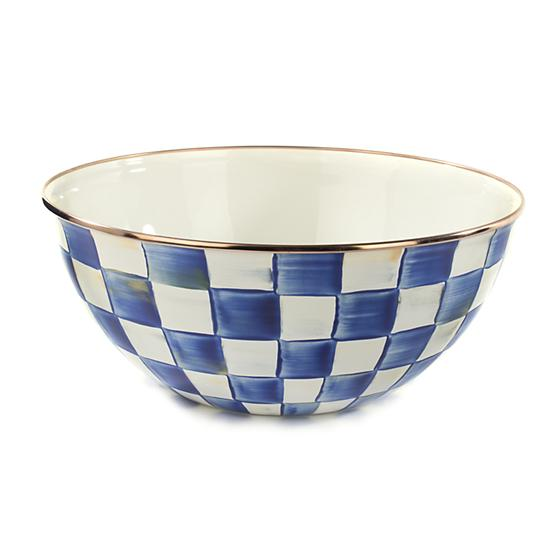 MacKenzie-Childs Royal Check Everyday Bowl - Large