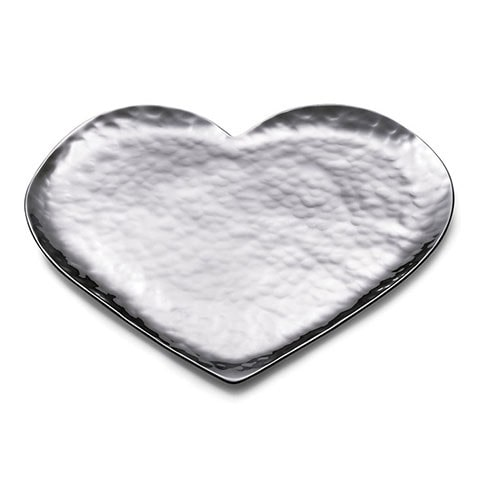 Mary Jurek Amore Hammered Steel Heart Tray