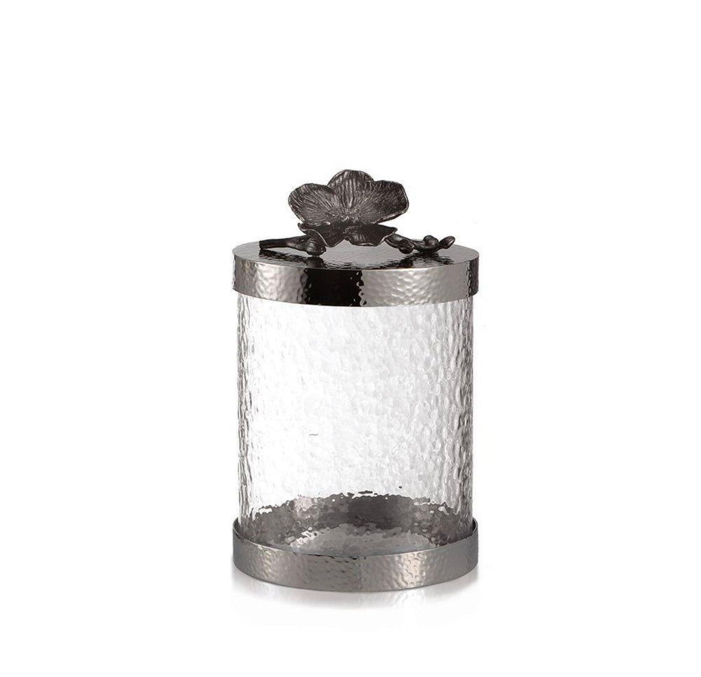 Michael Aram Black Orchid Canister