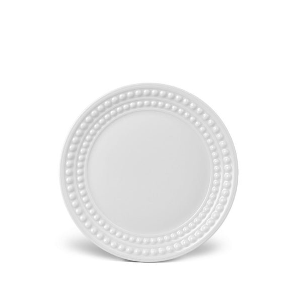 L'Objet Perlée White Bread and Butter Plate