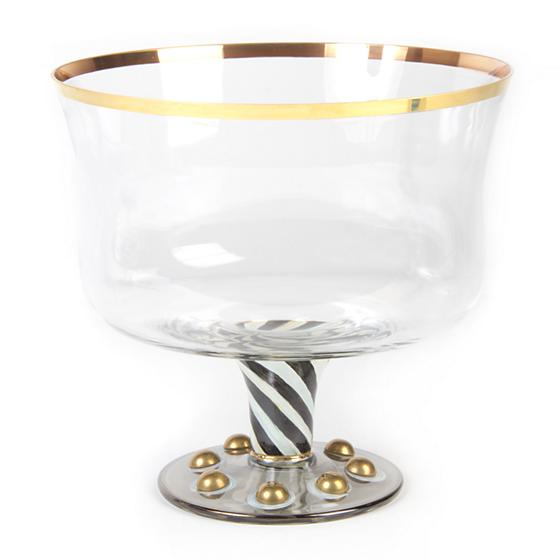 MacKenzie-Childs Courtly Check Tango Trifle Bowl