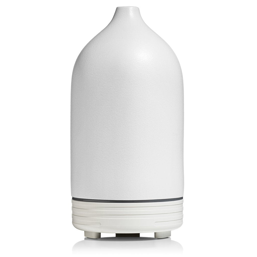 Campo Ultrasonic Essential Oil Diffuser - White Ceramic