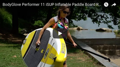 Performer 11 iSUP Inflatable Paddle Board REVIEW with Mic Bergsma