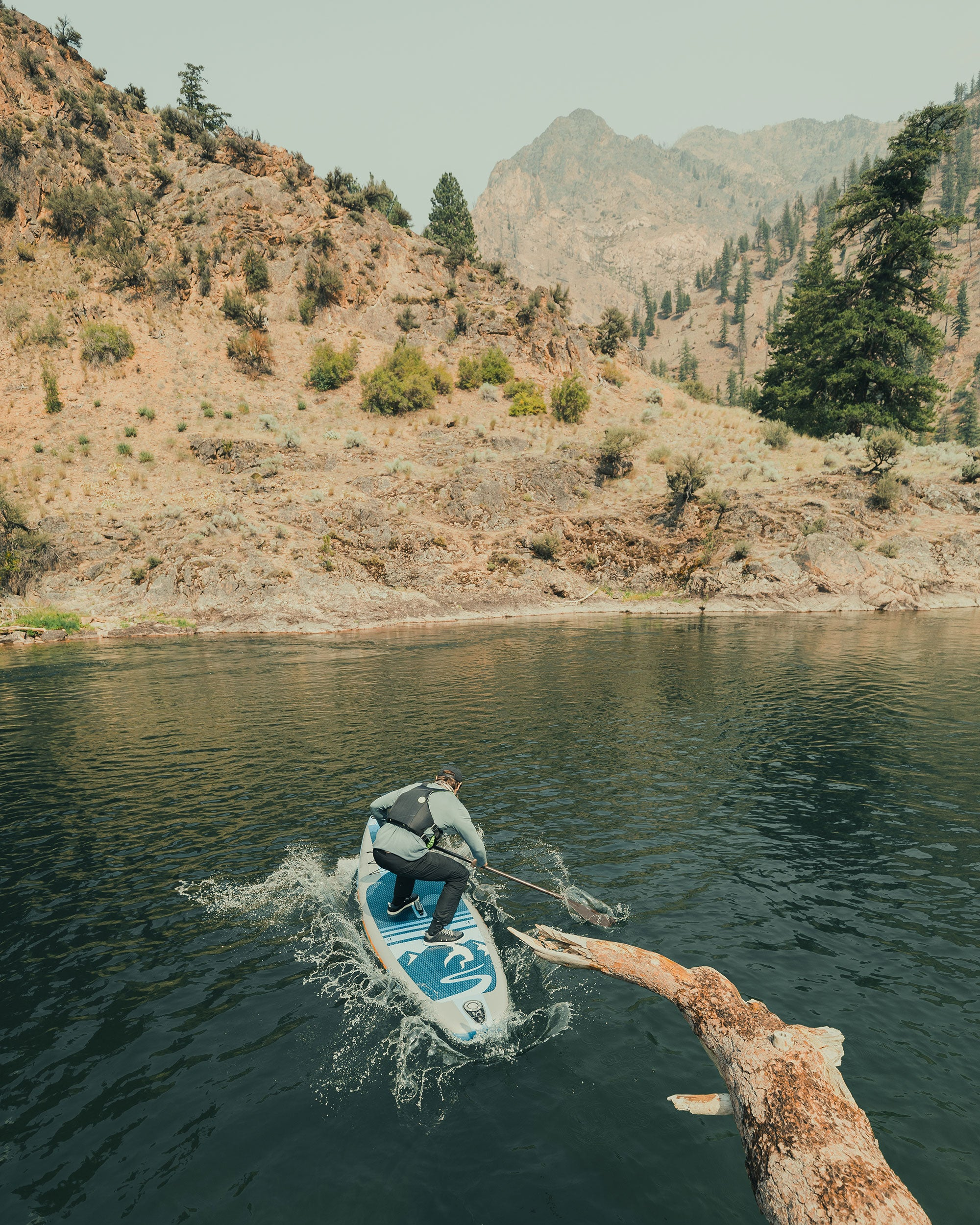 100 Miles on the Middle Fork of the Salmon River with Slater Trout and His Body Glove Performer 11 Stand-Up Paddleboard