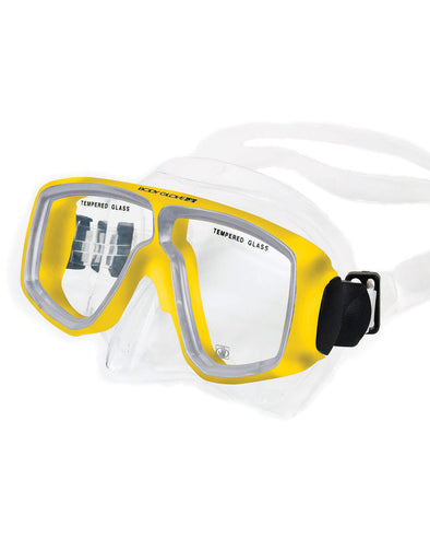 Mild Optical Diving Snorkeling Mask - Yellow