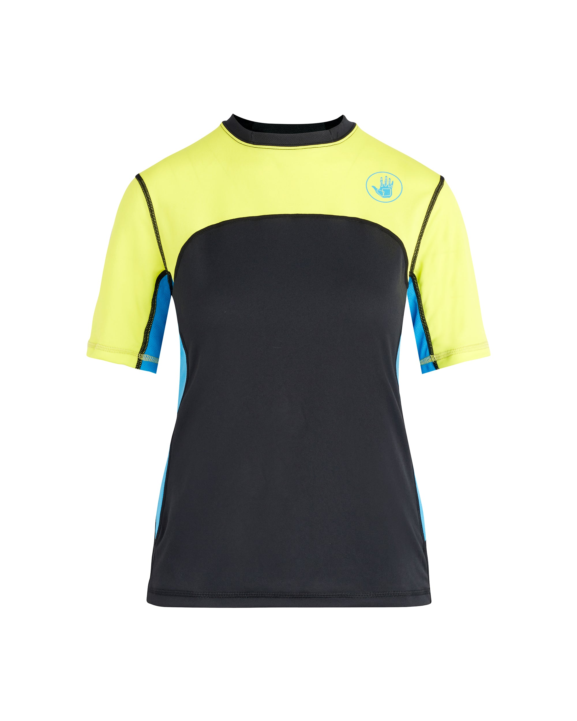 Women's Performance Loosefit Short-Arm Shirt - Viridian