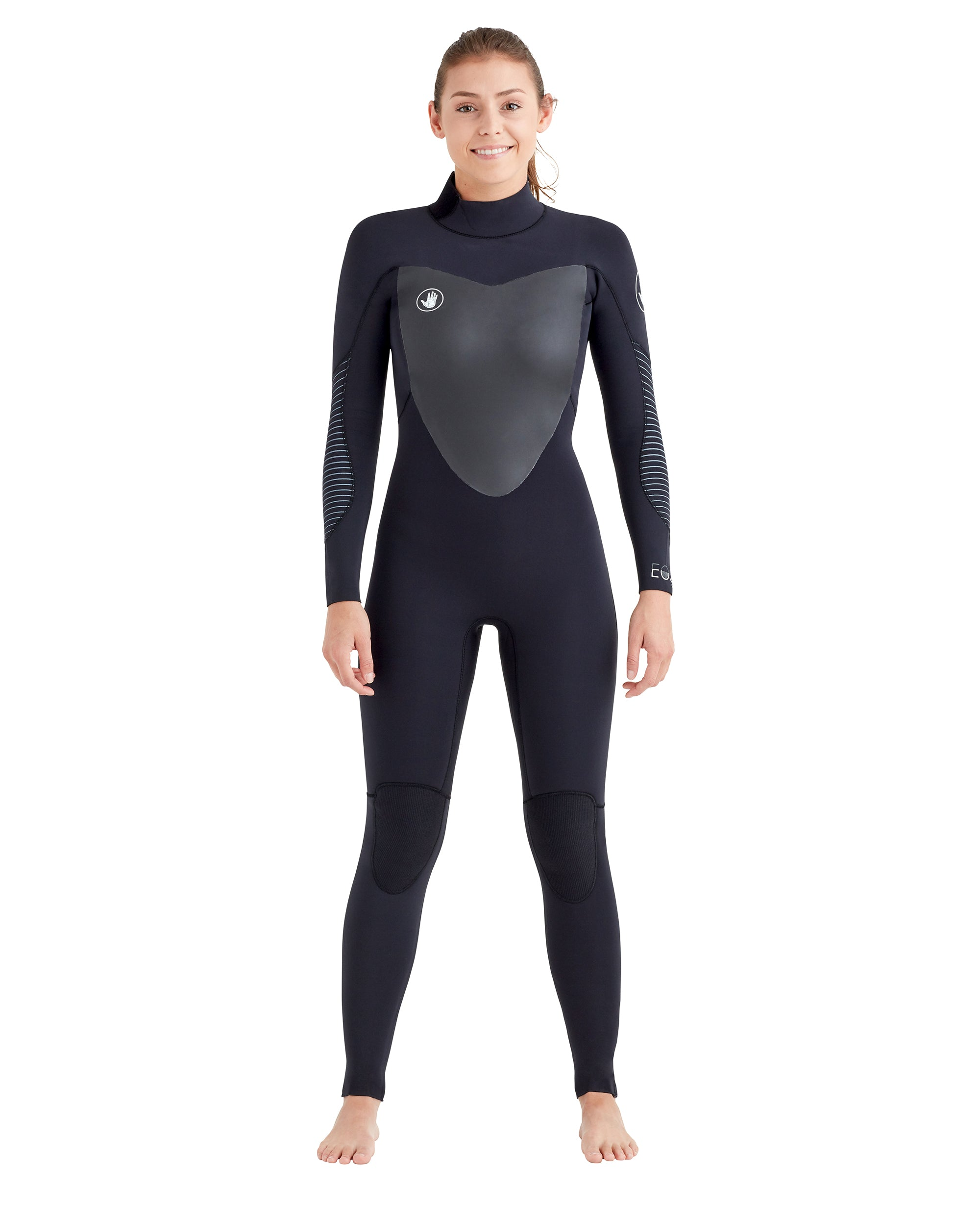 Women's Eos Back-Zip 4/3mm Women's Fullsuit - Black