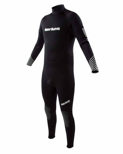 Pro 3 Dive 3mm Back-Zip Men's Fullsuit - Black