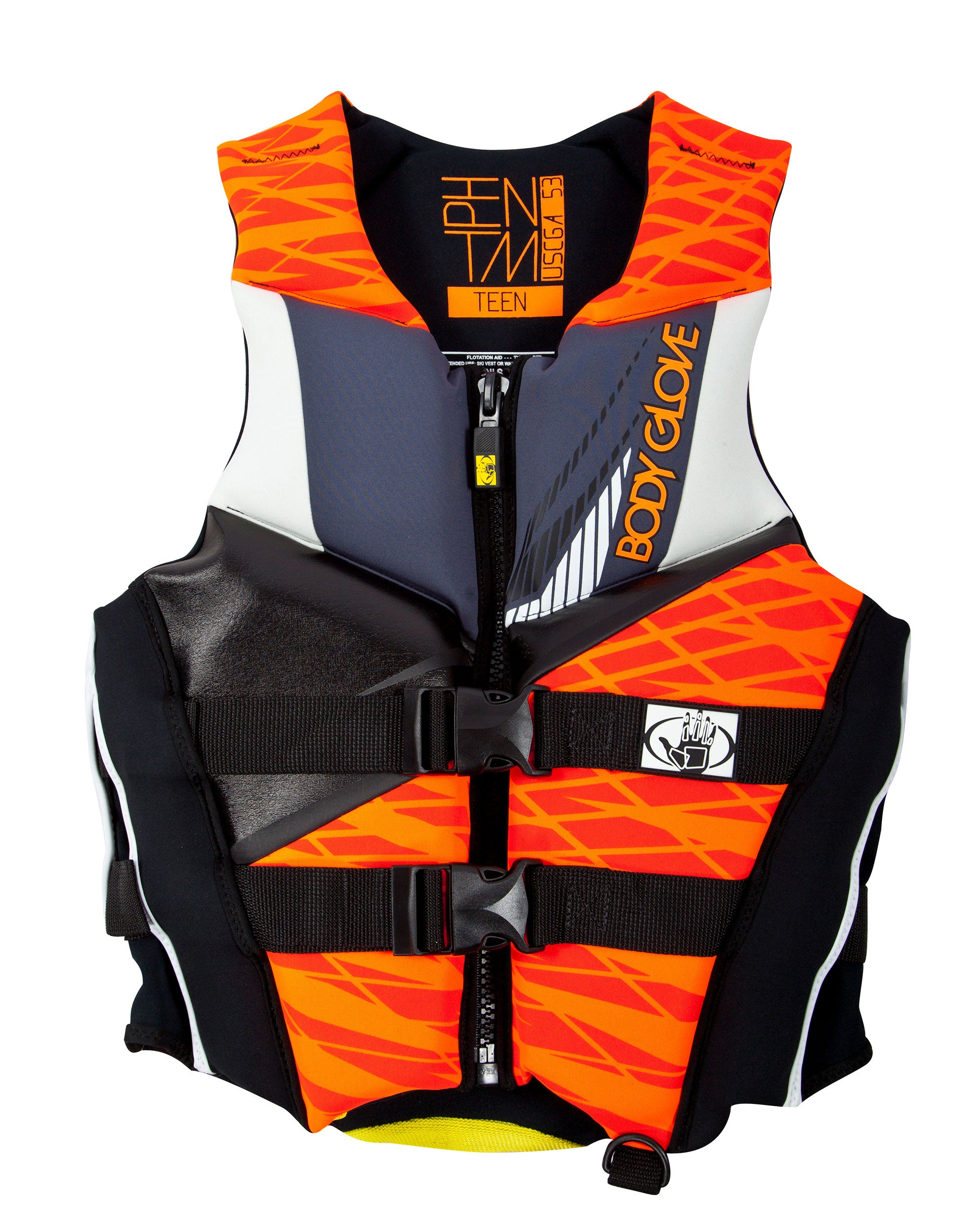Teen Phantom USCGA PFD - Orange/Black