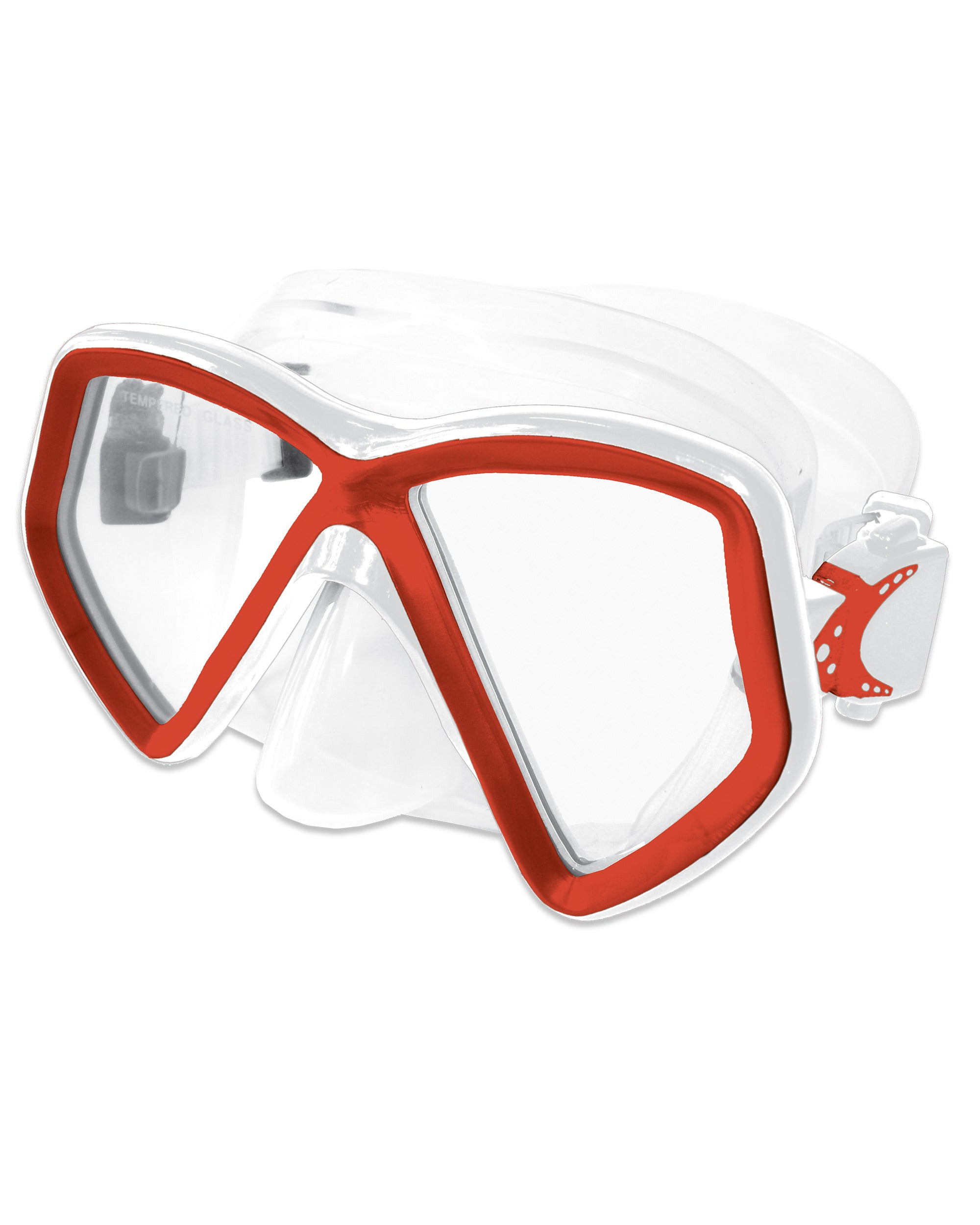 Cabo Mask - Red/White