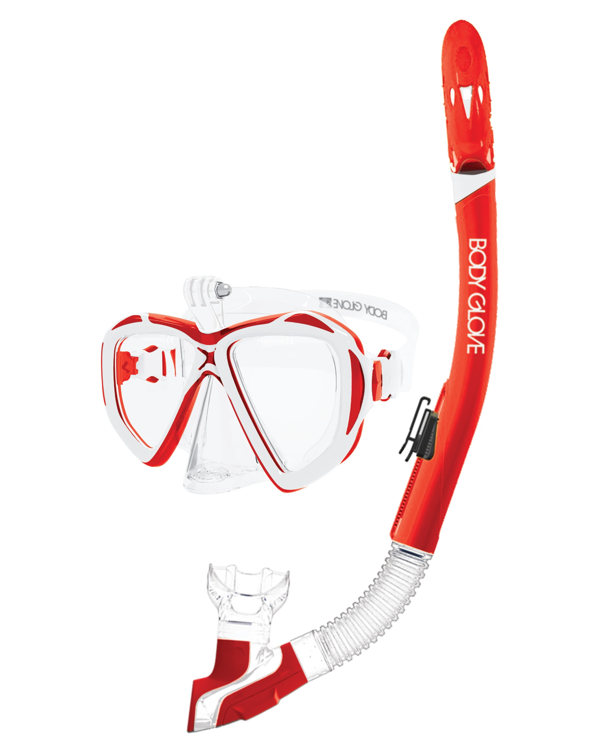 Passage Mask / Snorkel Combo - Red/White