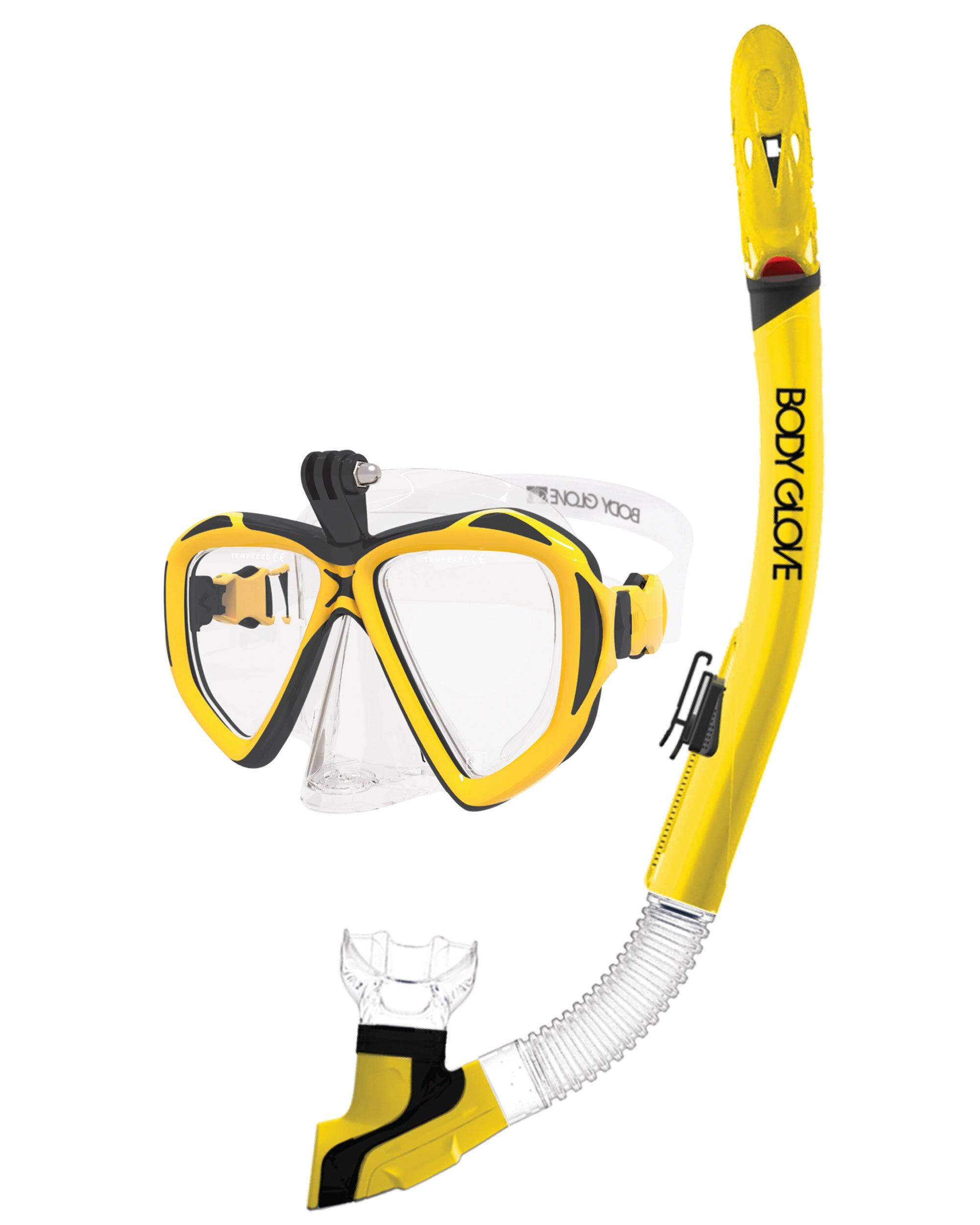 Passage Mask / Snorkel Combo - Yellow/Black