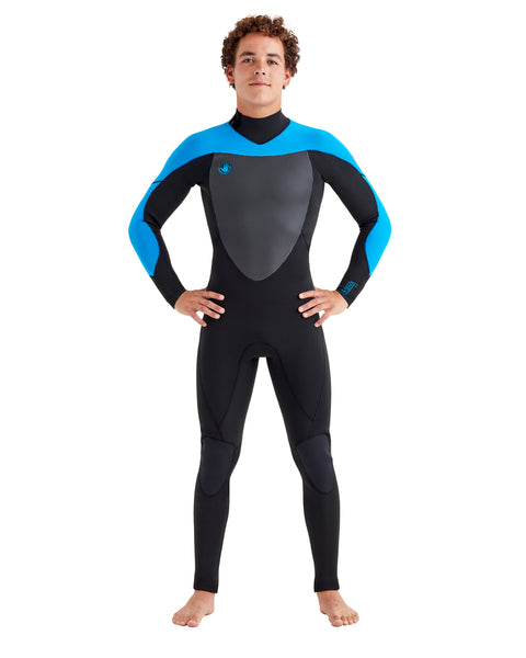 Phoenix 3/2mm Back-Zip Men's Fullsuit - Blue