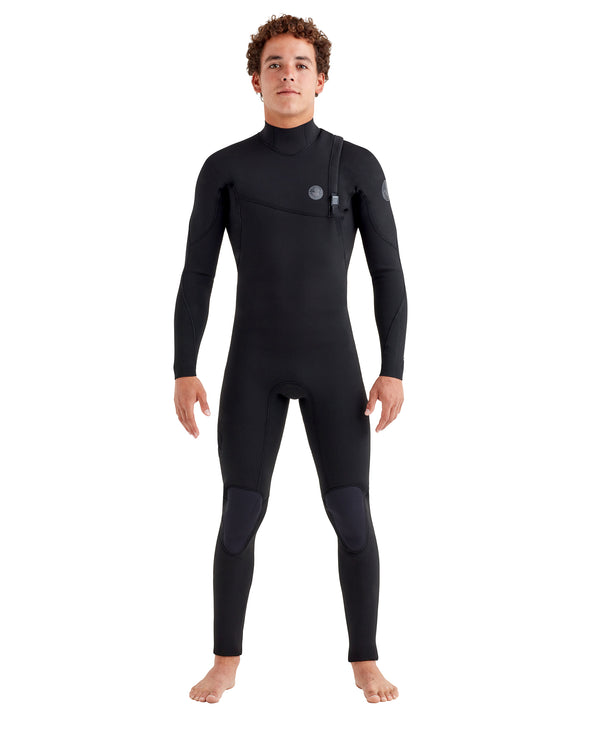 Pr1me 4/3mm Zipperless Men's Fullsuit - Black