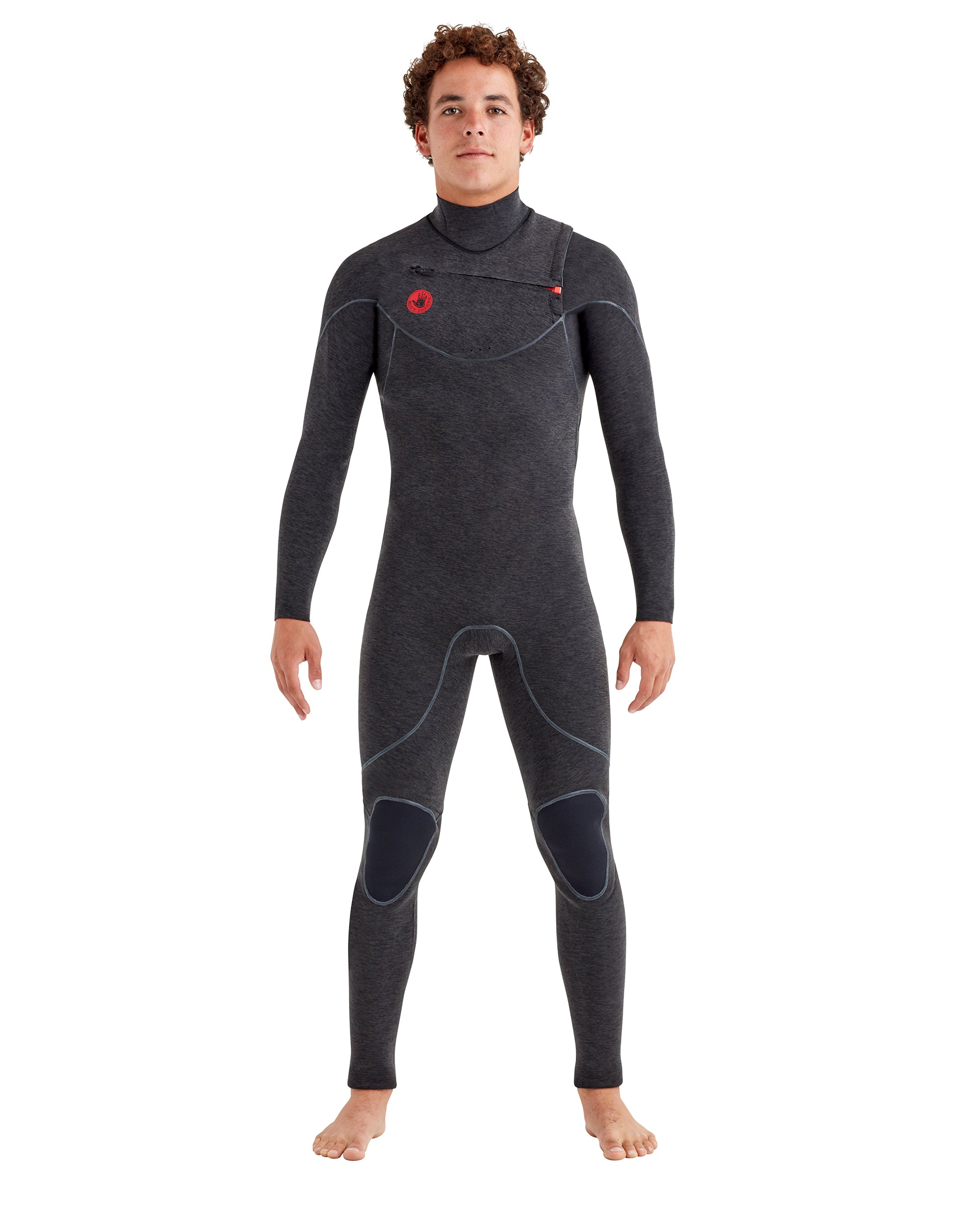 Red Cell 3/2mm Slant-Zip Men's Fullsuit