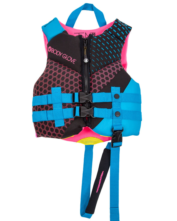Phantom Child USCGA PFD - Aqua/Pink