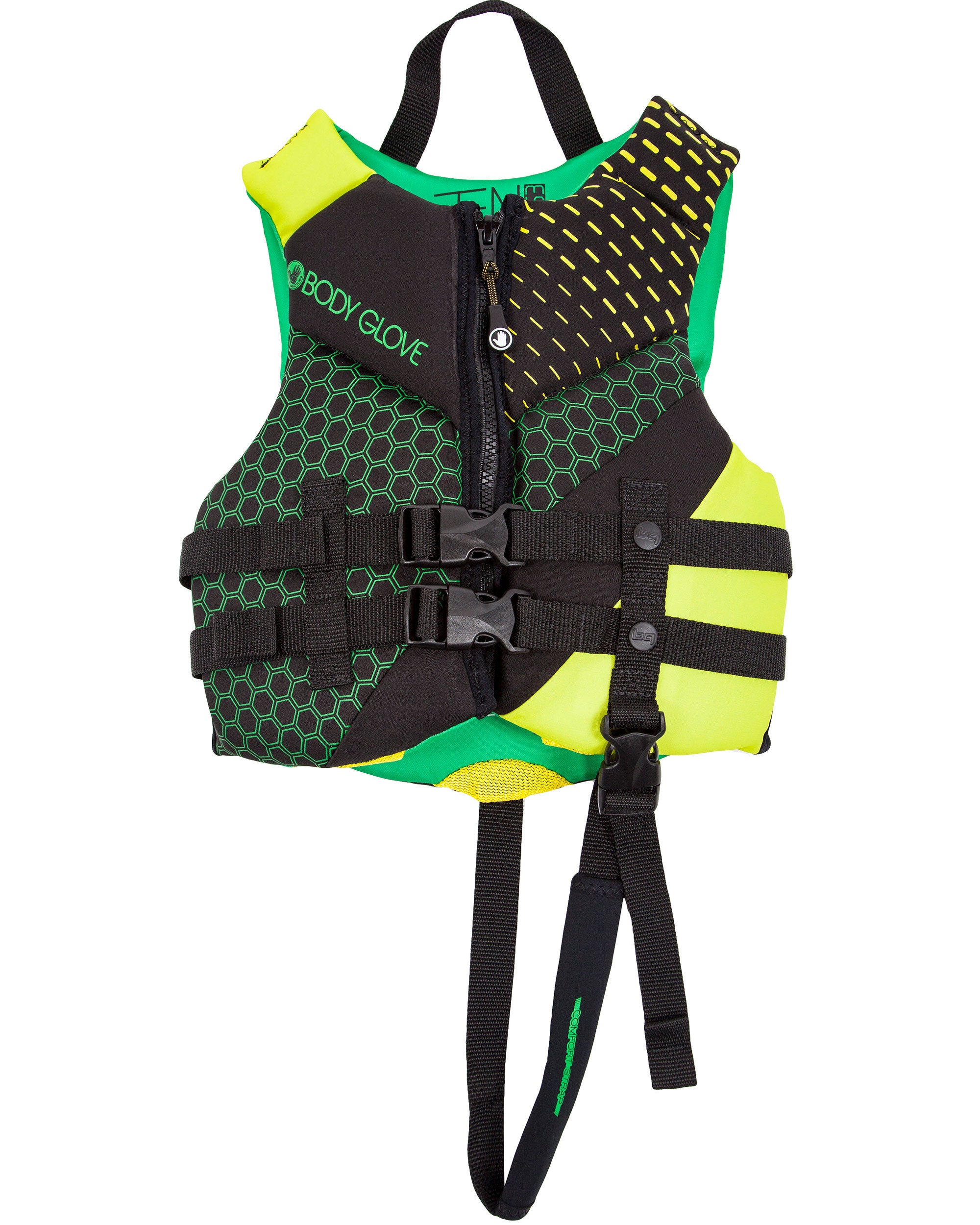 Phantom Child USCGA PFD - Green/Lime