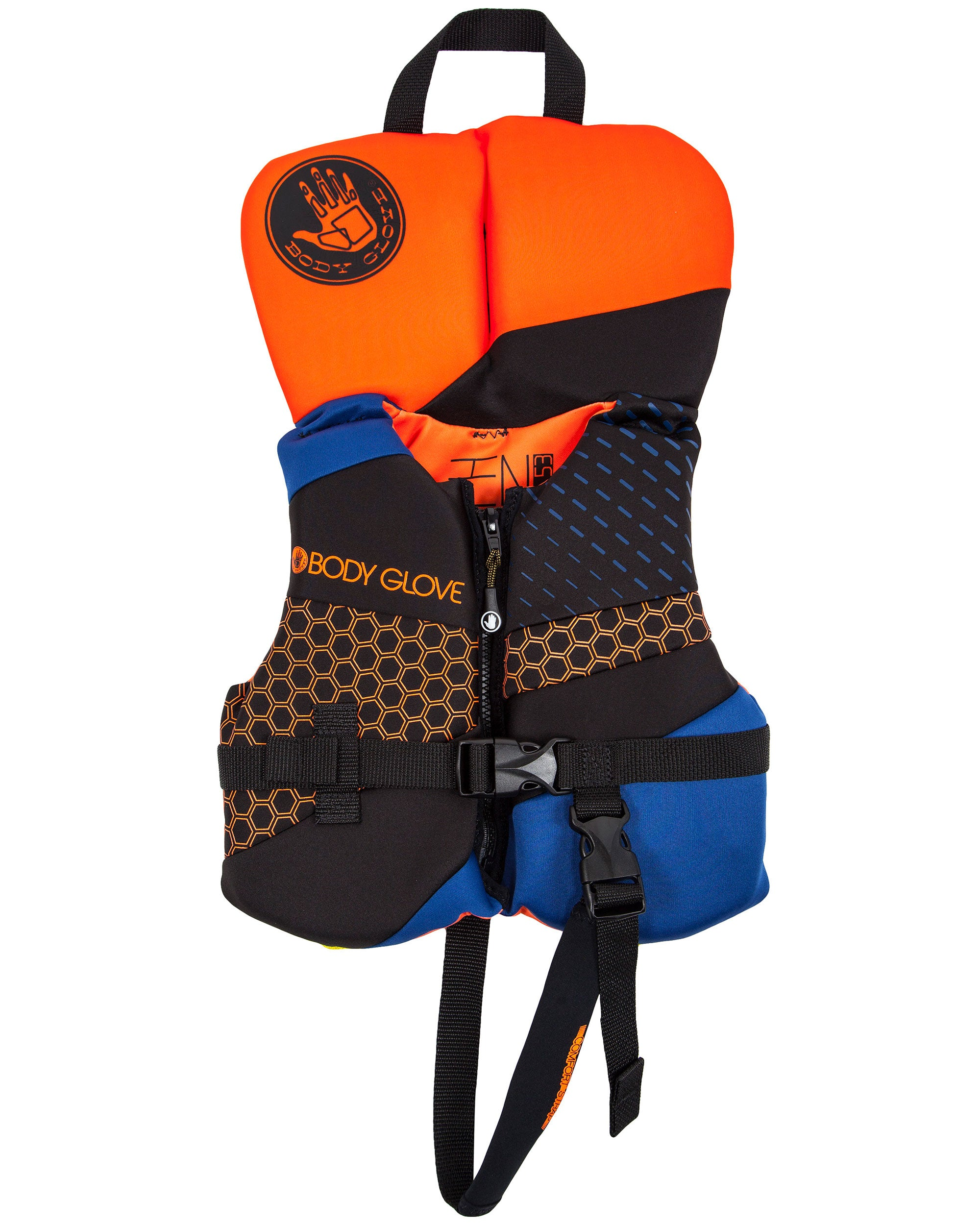 Phantom Infant USCGA PFD - Orange/Navy