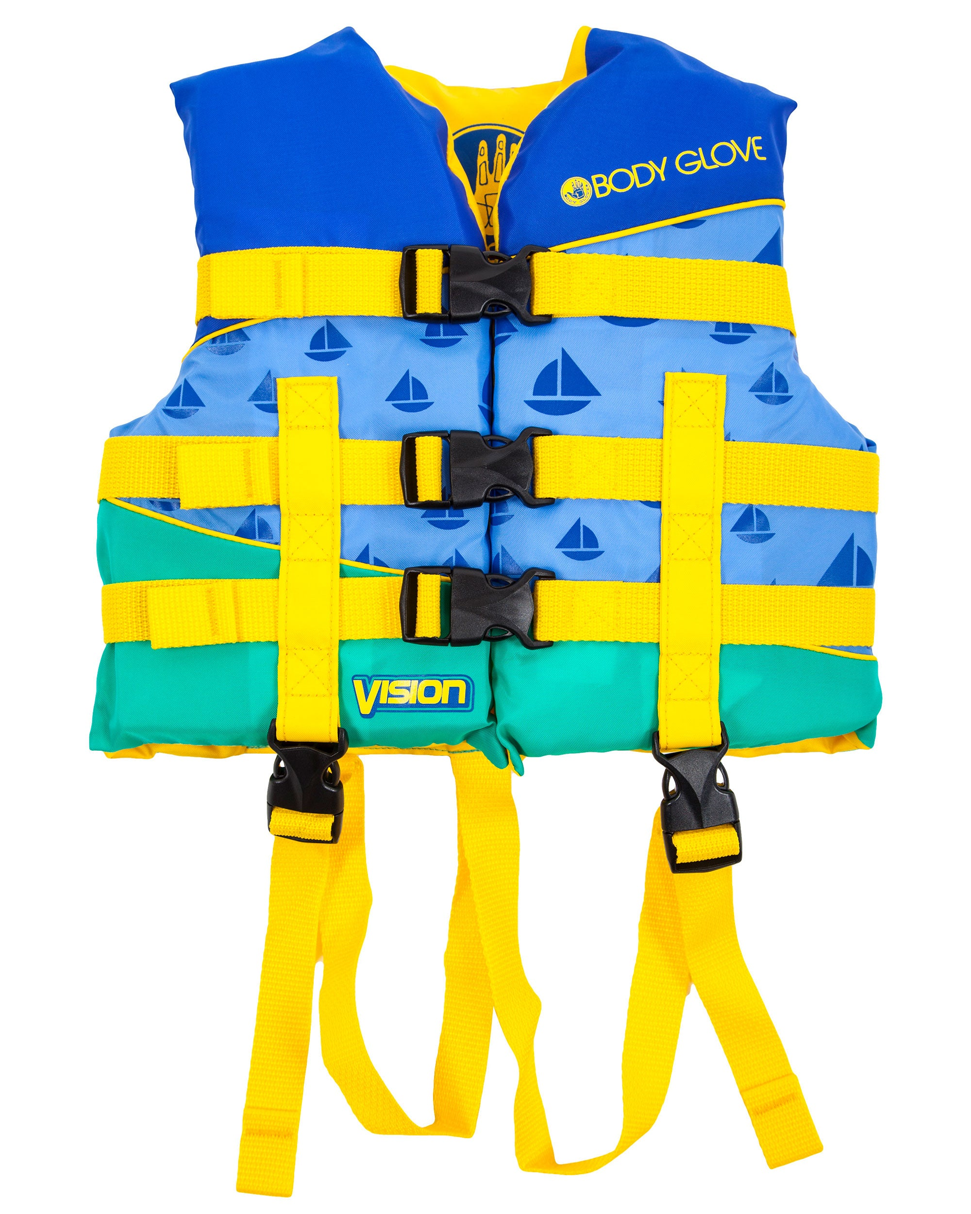 Vision Type III Child Nylon USCGA PFD - Blue