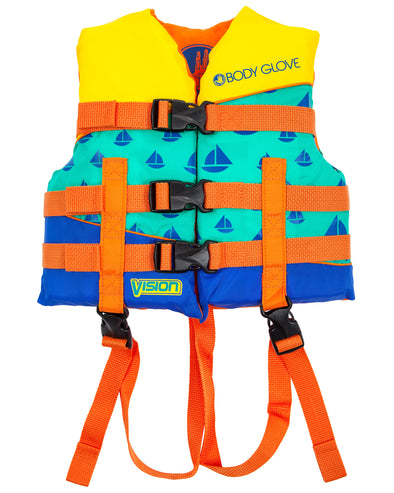 Vision Type III Child Nylon USCGA PFD - Orange