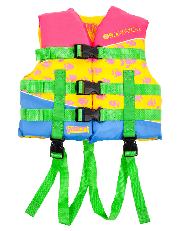 Vision Type III Child Nylon USCGA PFD - Pink