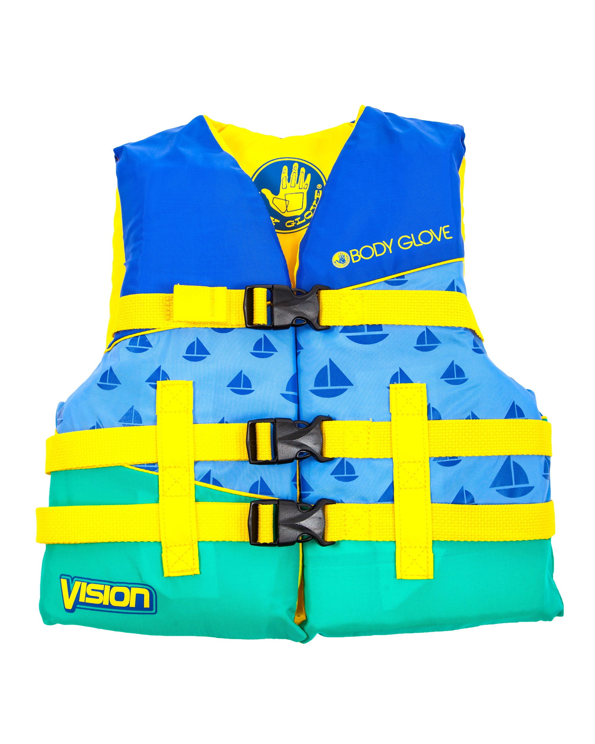 Vision Type III Youth Nylon USCGA PFD - Blue
