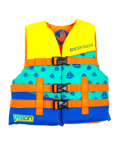 Vision Type III Youth Nylon USCGA PFD - Orange