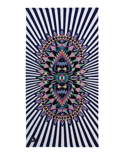 "36x70 ""Look at Me"" Print Beach Towel - Multi"
