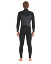 Phoenix 3/2mm Men's Chest-Zip Fullsuit - Black