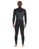 Phoenix 4/3mm Men's Chest-Zip Fullsuit - Black