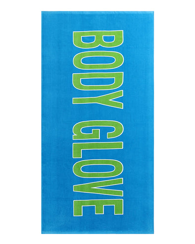 "36x70 ""Body Glove"" Beach Towel - Blue"