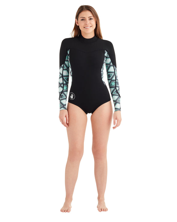 Women's Stellar 2mm L/A Springsuit - Tribal