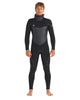 Phoenix 5/4/3mm Men's Chest-Zip Hooded Fullsuit - Black