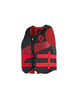 Stealth Unisex USCGA PFD - Black/Red