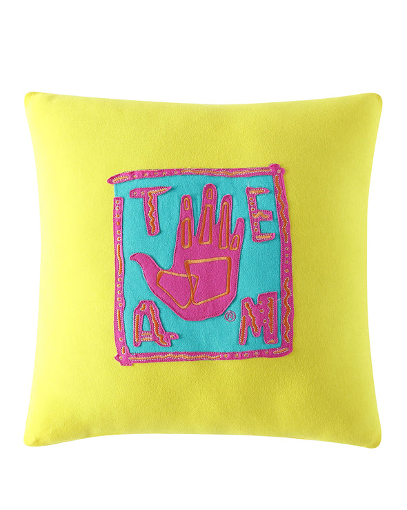 """Team Body Glove"" 18x18 Decorative Pillow - Yellow"