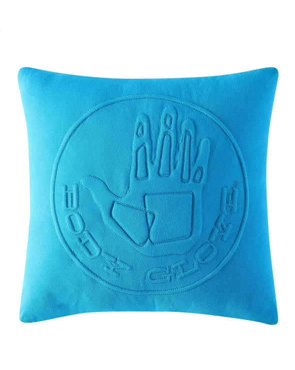 Body Glove Embossed Logo Decorative Pillow - Blue