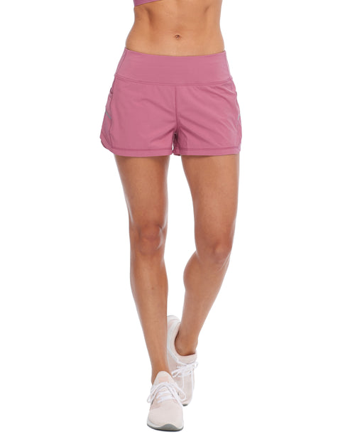 Buck Up Loose-Fit Shorts - Rosewood