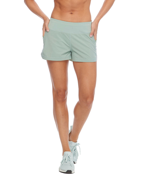 Buck Up Loose-Fit Shorts - Pale Pine