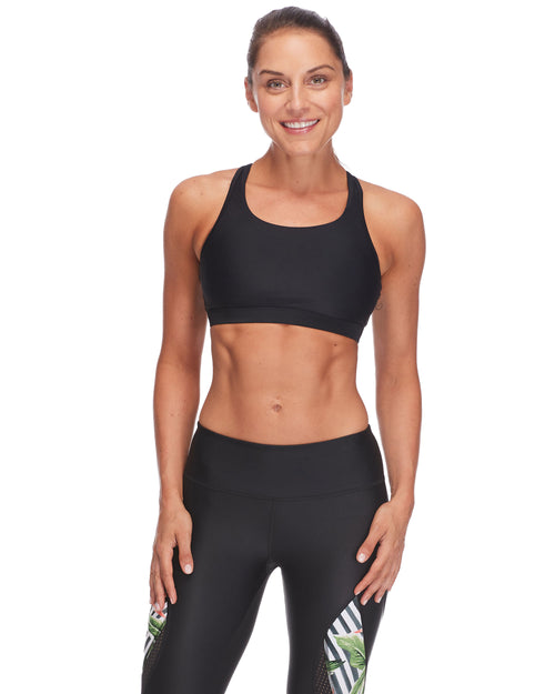 Quake High-Support Sports Bra - Black