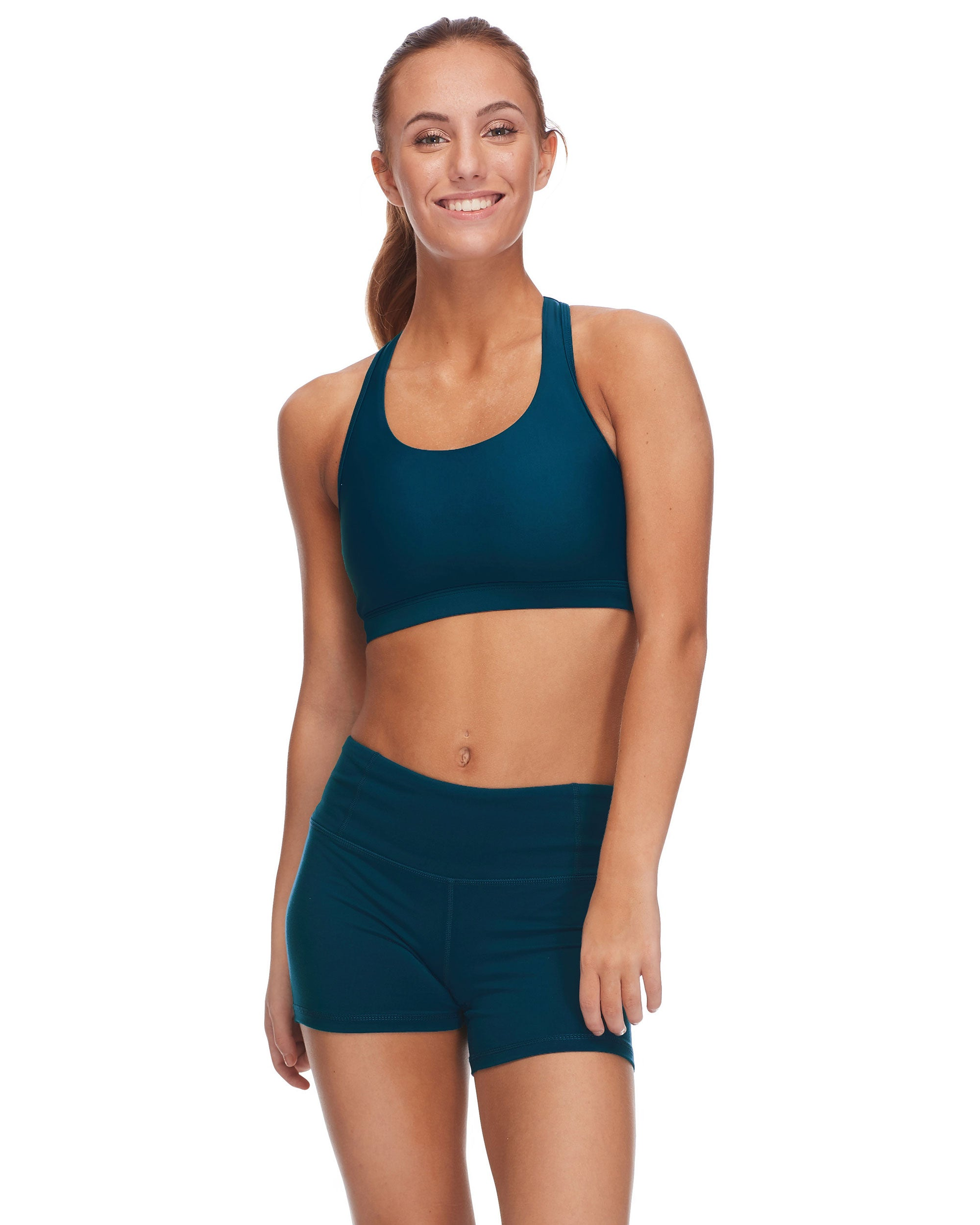Quake High-Support Sports Bra - Oceanic