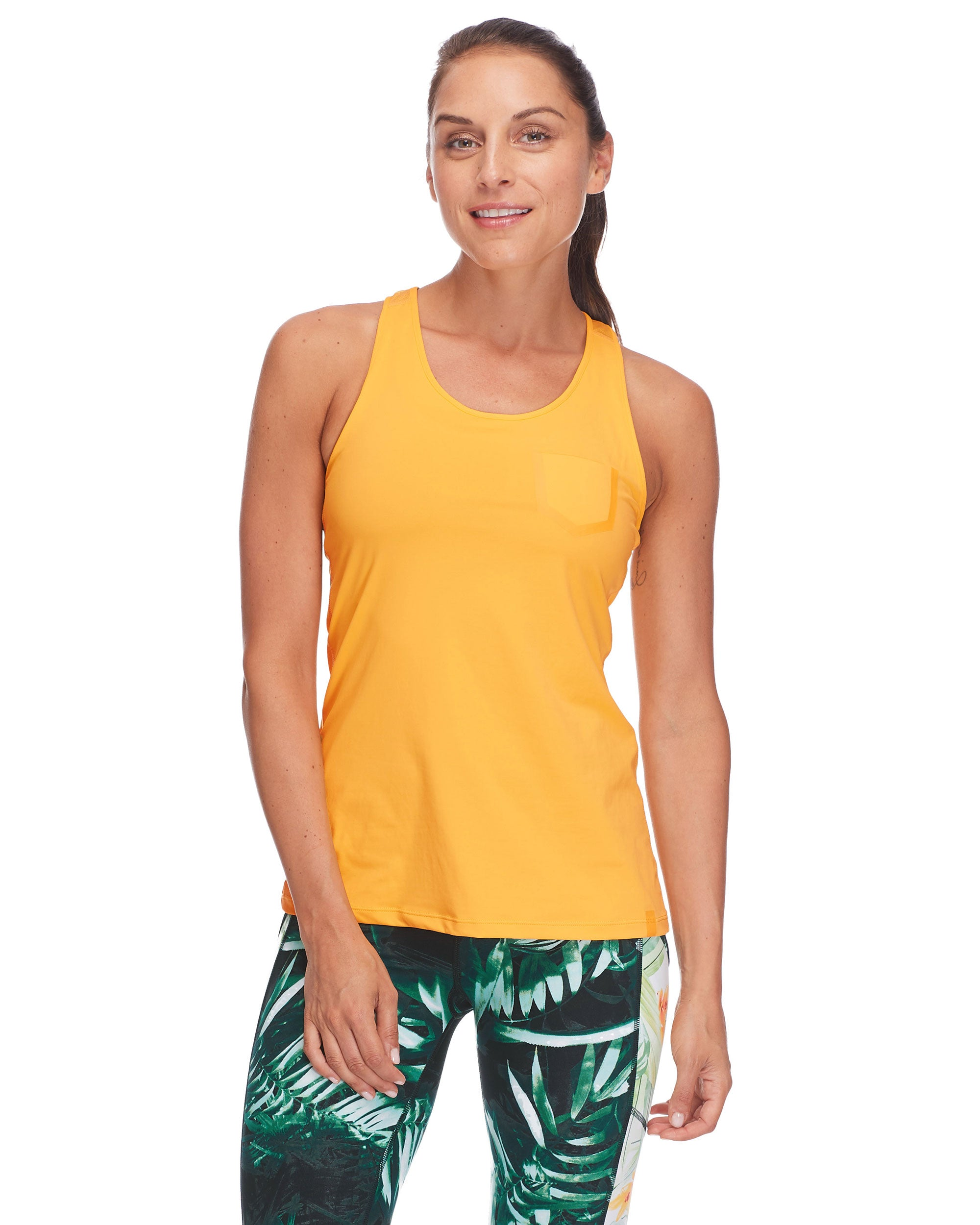 Meltemi Racerback Tank Top - Sunshine
