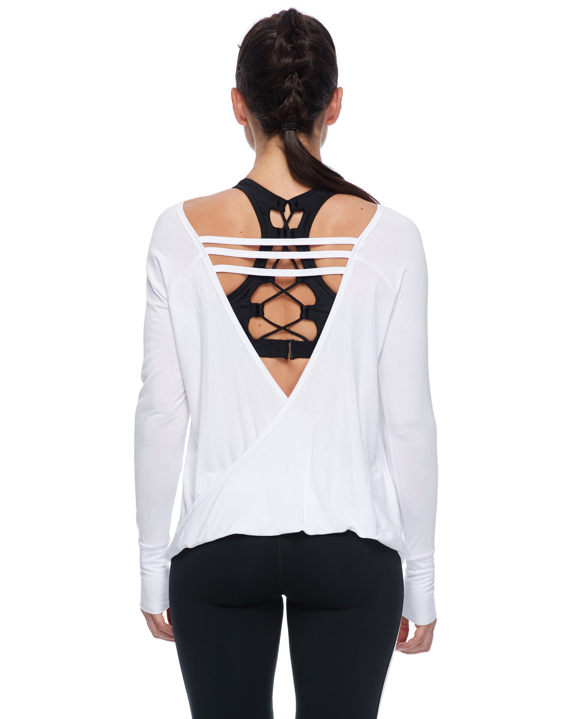 Booderee Cybele Long-Sleeved Shirt - White