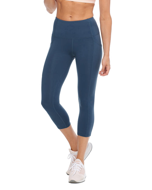 Work It Performance Capri Legging - Full Moon