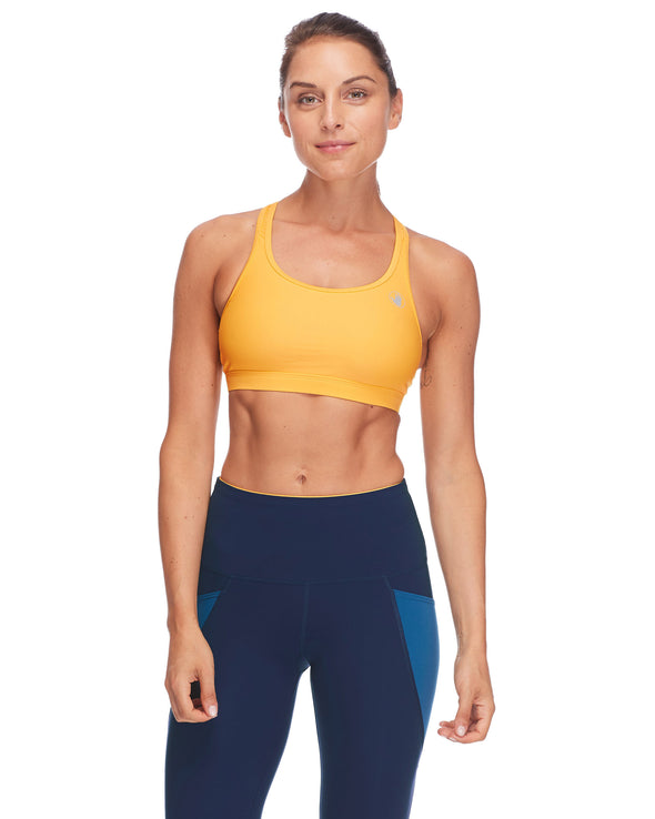 Equalizer-X Medium-Support Sports Bra - Sunshine