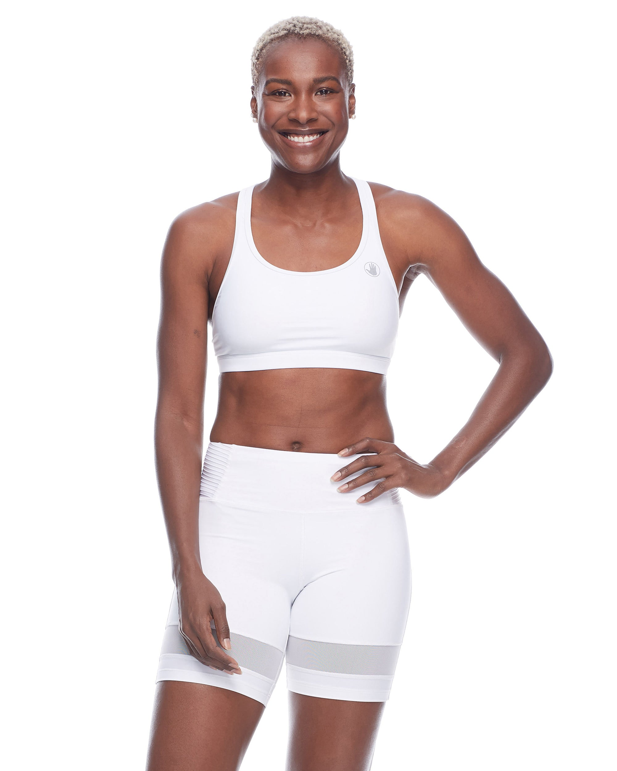 Equalizer-X Medium-Support Sports Bra - Snow