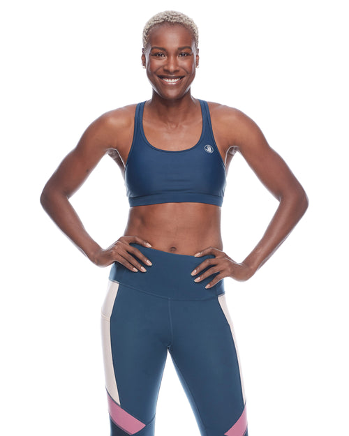 Equalizer-X Medium-Support Sports Bra - Full Moon
