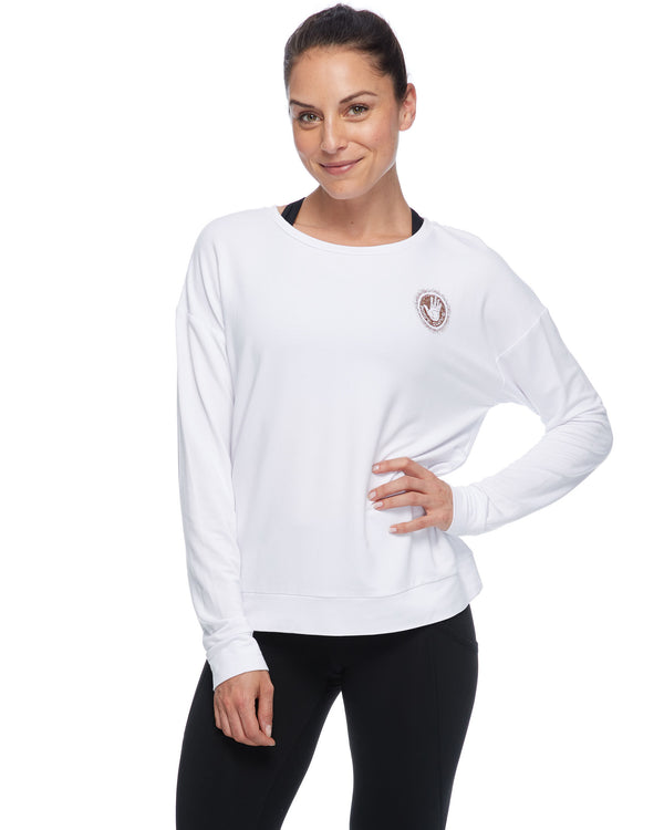 dbd4afbb28 Perdita Cammy Long-Sleeved Shirt - White
