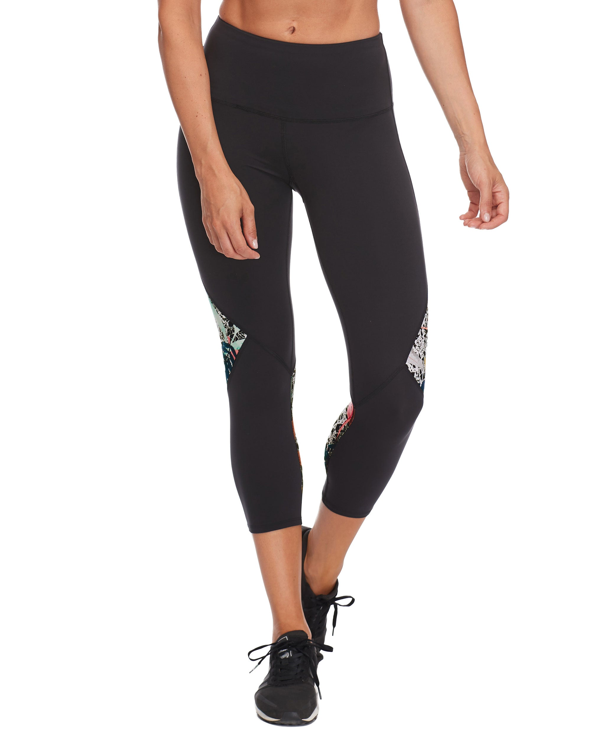 Libra Performance Capri Legging - Black