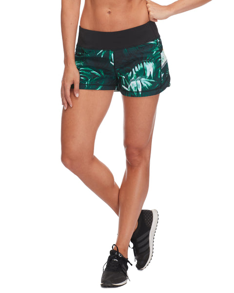 Buck Up Loose-Fit Short in Areca - Multi